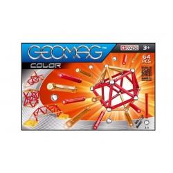 GEOMAG COLOR 64 PZ gioco magnetico modulare costruzioni 3+ creazioni illimitate