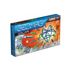 GEOMAG COLOR 86 PZ gioco magnetico modulare costruzioni 3+ creazioni illimitate