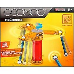 GEOMAG MECHANICS 33 PZ gioco modulare costruzioni 5+ forze meccaniche magnetiche