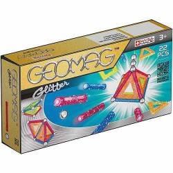 GEOMAG GLITTER 22 PZ gioco magnetico e modulare di costruzioni 3+