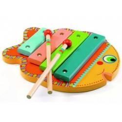 XILOFONO in legno PESCE ANIMAMBO DJ6001 strumento musicale per bambini
