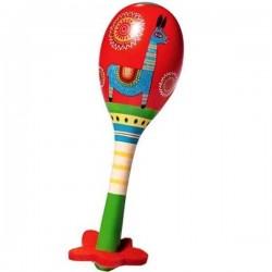MARACAS in legno ANIMAMBO DJ6008 strumento musicale per bambini