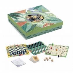 20 GIOCHI DJECO scatola regalo classici giochi DJ05219
