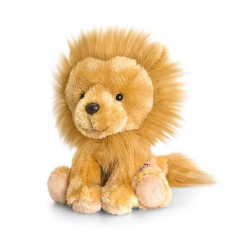 PELUCHE LEONE 14 cm Pippins Keel Toys CLASSICO pupazzo bambola pet