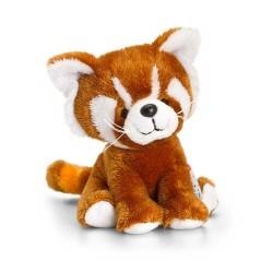 PELUCHE PANDA ROSSO 14 cm Pippins Keel Toys CLASSICO pupazzo bambola pet
