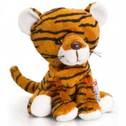 PELUCHE TIGRE 14 cm Pippins Keel Toys CLASSICO pupazzo bambola pet