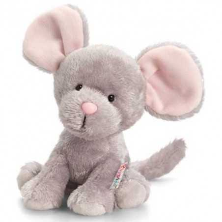 PELUCHE TOPO 14 cm Pippins Keel Toys CLASSICO pupazzo bambola pet