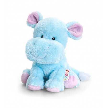 PELUCHE IPPOPOTAMO 14 cm Pippins Keel Toys CLASSICO pupazzo bambola pet