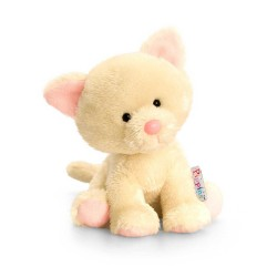 PELUCHE GATTO 14 cm Pippins Keel Toys CLASSICO pupazzo bambola pet