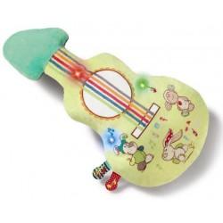 CHITARRA PELUCHE CON MUSICA Waldmuller MY FIRST NICI guitar musicale DA 6 MESI +