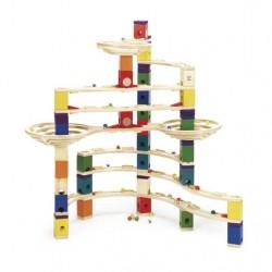 QUADRILLA THE CHALLENGER base gioco piste in legno per biglie età 4+ 147 pezzi