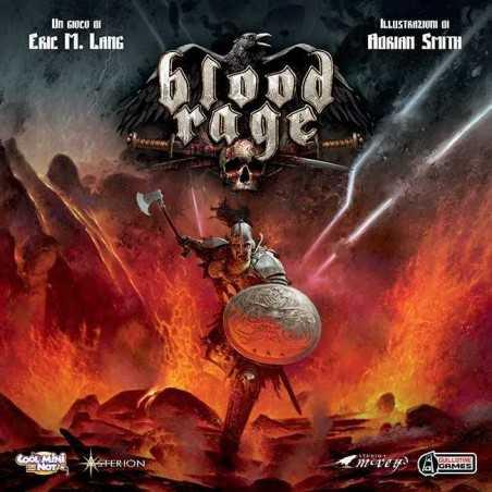 BLOOD RAGE edizione italiana ADRIAN SMITH bloodrage VICHINGHI età 14+ ASTERION