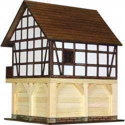 GRANAIO CASA A GRATICCIO in legno da costruire WALACHIA età 8+ costruzioni