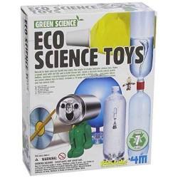 ECO SCIENCE TOYS 4m SCIENZA età 8+ OGGETTI RICICLATI Gioco scientifico in kit