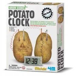OROLOGIO A PATATA 4m POTATO CLOCK età 8+ ENERGIA NATURALE Gioco scientifico in kit