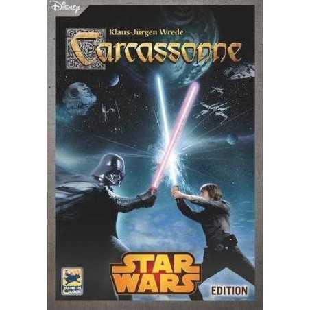 CARCASSONNE Star Wars Edition GIOCO INDIPENDENTE da tavolo EDIZIONE ITALIANA 7+