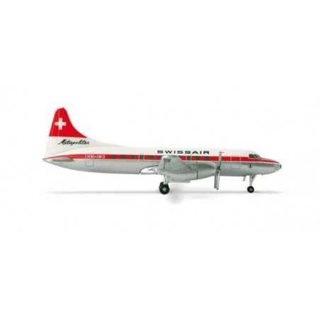 HERPA WINGS 1:500 SWISS INTERNATIONAL AIR LINES CONVAIR CV-440 - 517591