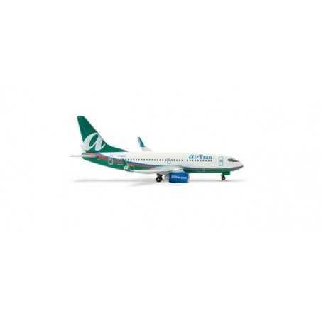 HERPA WINGS 1:500 AIRTRAN AIRWAYS BOEING 737-700 WITH WINGLETS - 505000