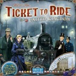 UNITED KINGDOM + PENNSYLVANIA espansione TICKET TO RIDE inghilterra regno unito DAYS OF WONDER