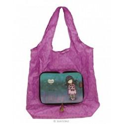 Gorjuss SHOPPER BAG RIPIEGABILE shopping LITTLE SONG 308GJ17 Santoro borsa spesa