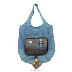 Gorjuss SHOPPER BAG RIPIEGABILE shopping TOADSTOOL 308GJ14 Santoro borsa spesa
