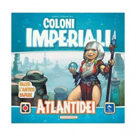 ATLANTIDEI espansione per COLONI IMPERIALE edizione italiana PENDRAGON GAMES età 10+