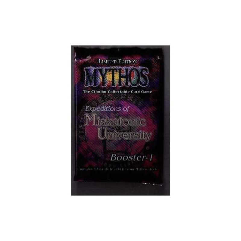 Expeditions of Miskatonic University MYTHOS The Cthulhu Collectable Card Game IN INGLESE Limited Edition BOOSTER 13 cards