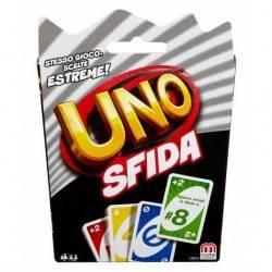 UNO - SFIDA mattel SCELTE ESTREME età 7+ GIOCO DI CARTE 2-10 giocatori 112 CARDS