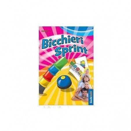 BICCHIERI SPRINT party game GIOCHI UNITI osservazione rapidità CAMPANELLO età 6+