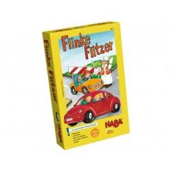 I BOLIDI flinke flitzer HABA età 4 - 8 anni GIOCO EDUCATIVO con dado colorato