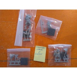 LEGENDARY HEROES OF RENOWN miniatures DUNGEON SAGA KICKSTARTER add-on