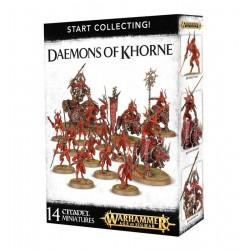 START COLLECTING Warhammer 40000 DAEMONS OF KHORNE 14 miniature Citadel GAMES WORKSHOP 12+
