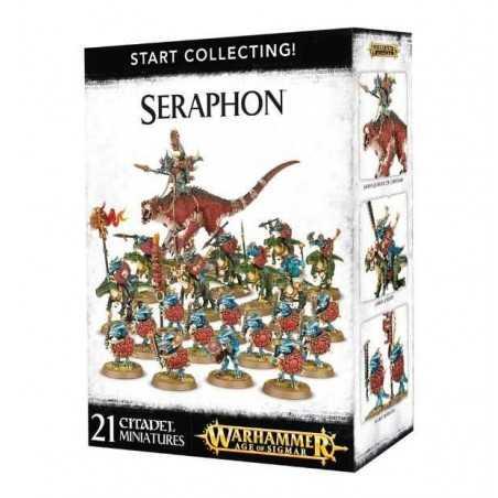 START COLLECTING Warhammer Age Of Sigmar SERAPHON 19 miniature Citadel GAMES WORKSHOP 12+ uomini lucertola
