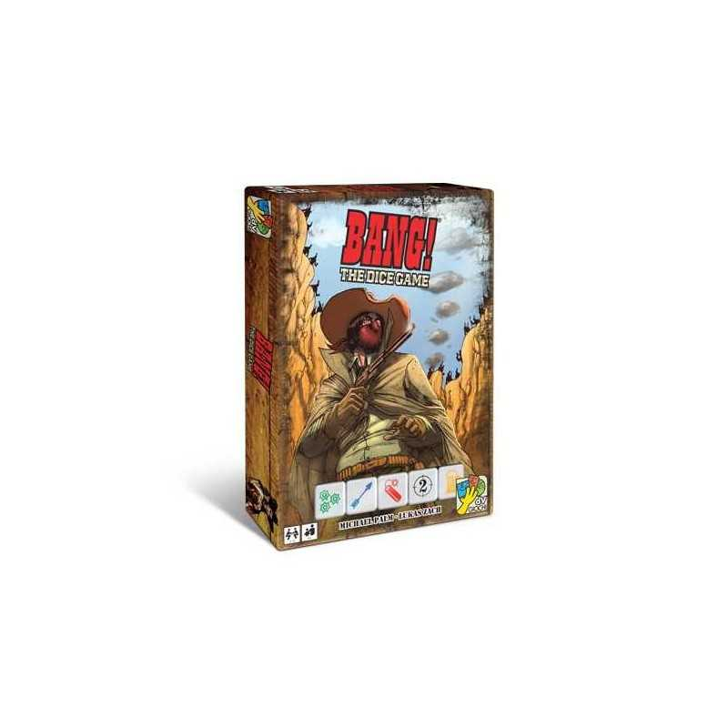 BANG! bang THE DICE GAME DaVinci Games GIOCO DI DADI indipendente ETA' 8+ cowboys