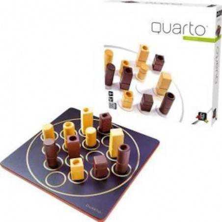 QUARTO! oliphante ETA' 8+ gioco da tavolo UNO CONTRO UNO per 2 giocatori IN LEGNO