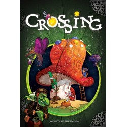CROSSING gioco da tavolo in italiano CARTE E GEMME età 8+ Asterion Press