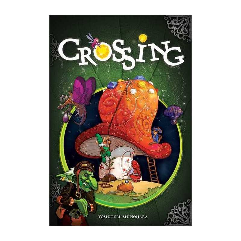 CROSSING gioco da tavolo in italiano CARTE E GEMME età 8+ Asterion Press
