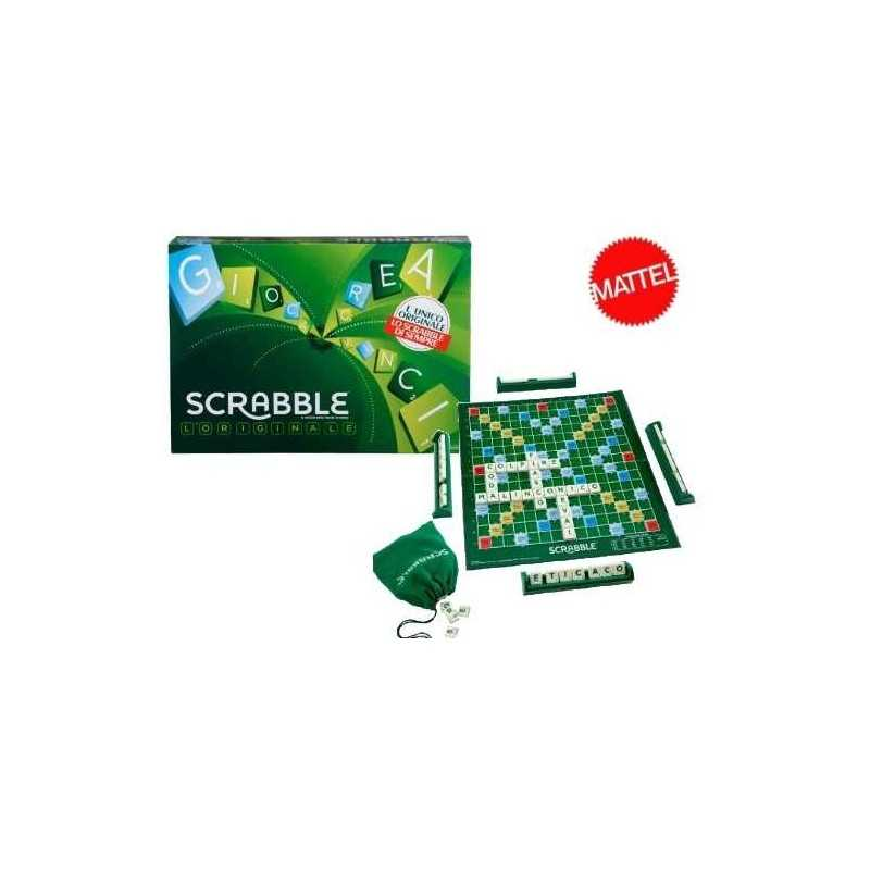 SCRABBLE gioco da tavolo SCARABEO unisci le lettere MATTEL età 10+ parole crociate