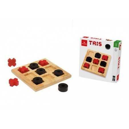 DAL NEGRO dalnegro TRIS tutto in legno MAXI età 5+ UNO CONTRO UNO gioco classico