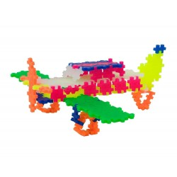 MINI NEON 220 pezzi 3 in 1 PLUSPLUS gioco modulare costruzioni