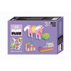 MINI PASTEL 480 pezzi 3 in 1 PLUSPLUS gioco modulare costruzioni