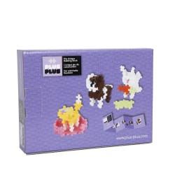 MINI PASTEL 170 pezzi ANIMALI PLUSPLUS gioco modulare costruzioni
