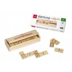 DOMINO gioco in legno DAL NEGRO dalnegro 28 PEDINE età 6+ DA 1 A 4 GIOCATORI classico