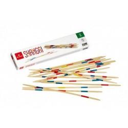 SHANGAI gioco in legno DAL NEGRO dalnegro 25 CM 41 bastoncini 2+ GIOCATORI età 5+ CLASSICO