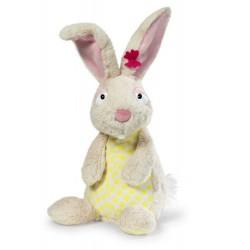 CONIGLIO BIANCO pupazzo PELUCHE Waldmuller NICI coniglietto 3 ANNI + in piedi