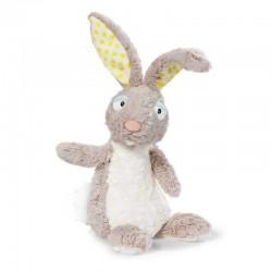 CONIGLIO BEIGE pupazzo PELUCHE bambola morbida NICI coniglietto DA 3 ANNI IN SU 15 cm