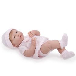 BAMBOLA BEBE' bebè ROSA 38 cm BERENGUER Boutique JCTOYS bebe DOLL età 2+ PUPAZZO certificato di nascita