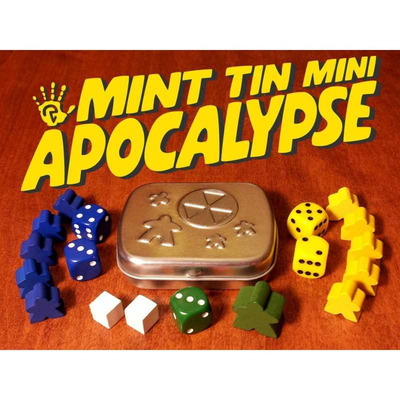 MINT TIN MINI APOCALYPSE Kickstarter Edition with Manhole Expansion