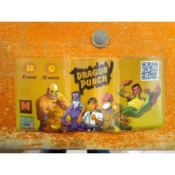 DRAGON PUNCH card game Kickstarter Edition in sturdy travel wallet