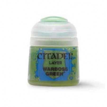 WARBOSS GREEN colore layer Citadel